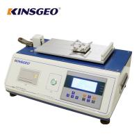 Buy cheap Digital Display Plastic Film Sheet Static Coefficient Friction Tester with Curve from wholesalers