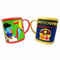 Buy cheap Promotional 3D PVC Mugs, New Fashionable Style and Soft product