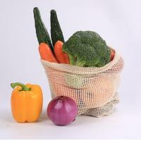 Buy cheap Customized Net Packaging Bags Food Grade Cotton Mesh Cream White Color Long Lifespan from wholesalers