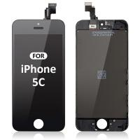 Black Color LG Display Panel Iphone LCD Screen For Iphone 5c Screen Replacement