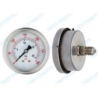 Buy cheap Back with bayonet bezel 63mm argon welding pressure gauge with glycerin filled from wholesalers