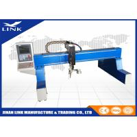 Buy cheap Aluminum / Stainless Steel Flame Gantry Plasma Cutting Machine / Cnc Plasma Cutter from Wholesalers