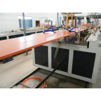 Buy cheap 800 - 1000mm Wide Plastic Pvc Door Panel Extrusion Making Machine 600KG/H Capacity from wholesalers