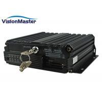 Buy cheap SD Card H264 Vehicle Mobile DVR 4CH 960P AHD PAL / NTSC TV System High product