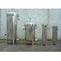 Buy cheap Multi Cartridge Stainless Steel Water Filter Housing SS304 SS316 For Water Treatment from wholesalers