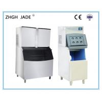 China Commercial Ice Cube Maker Machine 10A Power Plug Stainless Steel 304 Material on sale