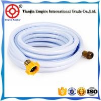 Buy cheap 4 inch W.P 4 bar 6bar PVC irrigation lay-flat hose polyester fiber pvc rubber red orange or customized from wholesalers