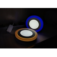 Buy cheap Utra Thin 18W+6W Surface Round LED Double Color LED Panel Light from wholesalers