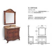 Buy cheap Grade AAA Hard-Wearing Bathroom Drawer Cabinets  (G-DRT036) from wholesalers