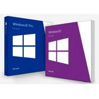 Buy cheap English Microsoft Windows 8.1 License Key Professional Software 100% Online Activation from wholesalers