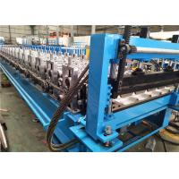 Buy cheap High Speed Stand Pillar Roof Sheet Roll Forming Machine , Roll Forming Equipment from wholesalers