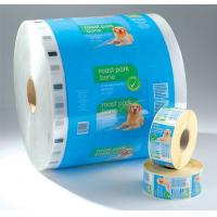 Buy cheap PET laminated LDPE Printed Laminating Film Roll , Moisture Proof Good Barrier Plastic Film Rolls product