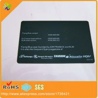 Buy cheap 2017 new design free design!100pcs/lot back side word engraving plated black metal card printing with 0.3mm thickness from wholesalers
