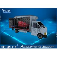 Buy cheap Electric Servo Control 7D Cinema Simulator / 5D Cinema Chair Hydraulic On Truck from wholesalers
