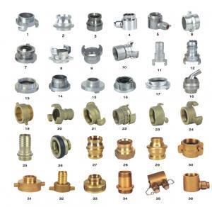 Buy cheap OEM ODM Storz Fire Hose Couplings Aluminum / Brass Fire Hose Fittings product