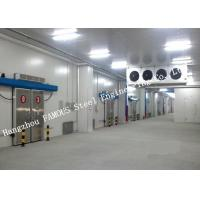 Buy cheap Commercial PU Sandwich Cold Room Panel Walk In Freezer For Meat And Fish Storage from wholesalers
