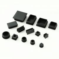 Buy cheap Square round Plastic feet cap cover for outdoor furniture; bed/sofa/table leg protection from wholesalers