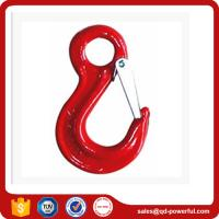 Buy cheap Drop Forged Eye Sling Hook with Safety Latch for Lifting Chain Slings from wholesalers