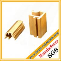Buy cheap decoration material brass alloy extrusion section from wholesalers