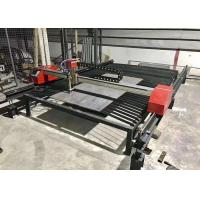 Buy cheap High Speed Portable Cnc Plasma Cutting Machine With Dual Drive Stepper Motor from wholesalers