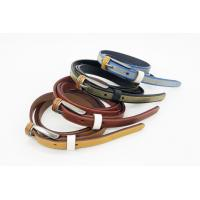 Buy cheap Silk Printing Women'S Fashion Leather Belts 1.3cm Width 95 - 125cm Length from wholesalers