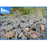 Hexagonal gabion rock wall cages wire mesh panels