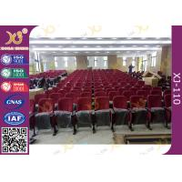 Buy cheap Newly University Project Long Usage Theatre Seating Chairs With Row / Seat product