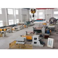 Buy cheap Aluminium Foil Steel Coil Slitting Machine PLC Control Pipe Making Support from wholesalers