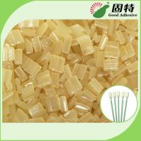 Buy cheap Environmental Yellow granule Hot Melt  Medical Glue Adhesive for Disposable Cleaning Cotton Swab from wholesalers