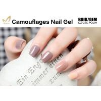 Buy cheap No Nicks No Chips Camouflage Nail Gel Builder For Natural / False Nails from wholesalers