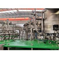 Buy cheap 4000BPH Sparkling Water / Coke Cola Filling Machine Carbonated Beverage Glass Bottle Filler from wholesalers