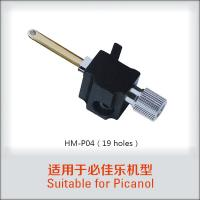 Buy cheap Toyota Tsudakoma Picanol Relay Nozzle 19 Holes Used For Air Jet Loom product