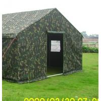 Buy cheap Green Military Style Tents Disaster Relief Waterproof Canvas Army Tent from wholesalers