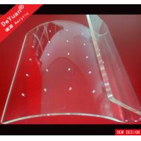Buy cheap Non Toxic Acrylic Holder Stand , Transparent Candy Display Rack from wholesalers