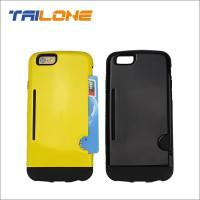 Buy cheap mobile phone case card holder wallet for Apple iphone 6 case from wholesalers
