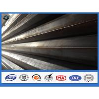 Buy cheap 11m Q345 Polygonal Hot dip Galvanized Electric Transmission Steel Pole from wholesalers