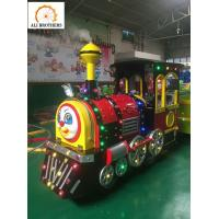 Buy cheap 24 Persons Shopping Mall Outdoor Amusement Park Rides trackless train from wholesalers
