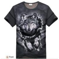 Buy cheap 3D Printing Breaking Wolf T-Shirts from wholesalers