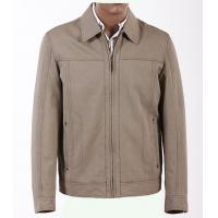 Buy cheap Customized Knit Lightweight 100% Cotton quilted varsity safari Jackets for Men product