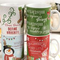 Buy cheap Christmas Personalized Ceramic Coffee Mugs Festival Advertising Promotional Gifts from wholesalers