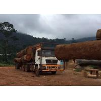 Buy cheap Off Road Heavy Log Loader Truck , Loading Logging Trucks With Tri Angle Log Pillar from wholesalers