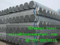 Buy cheap Hot dipped Galvanized scaffolding steel pipe and scaffolding steel tube from wholesalers