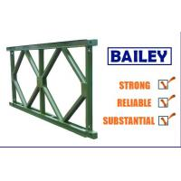 Buy cheap Easy Replace Q345b Steel Deck Panels , Standard Bailey Bridge Structure Components from wholesalers
