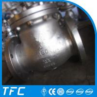 Buy cheap API 6D A995 BS1868 4A duplex steel swing check valve 6 inch from wholesalers