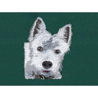 Buy cheap Dog tape embroidery digitizing services WAF9901a with color Black,White and so on from wholesalers