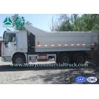 Buy cheap Strong Climbing Ability U Shape Huge Dump Truck 6X4 , Diesel Arm Hook HOWO from wholesalers