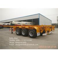 Buy cheap Shengrun 3 axles Container Chassis / 40FT Skeleton Semi Trailer from wholesalers