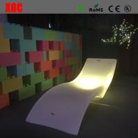 Buy cheap Super Bright Led Lighted Lounge Furniture IP56 Anti - UV 220*70*60cm Size from wholesalers