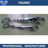 Buy cheap Car 3D Logo Keyring Jaguar Cool Car Keychains Custom Silver Chrome from wholesalers