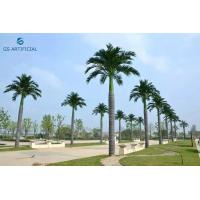 Buy cheap Six Meter Artificial Tropical Trees , Stable Faux Palm Leaves Lively Shape from wholesalers